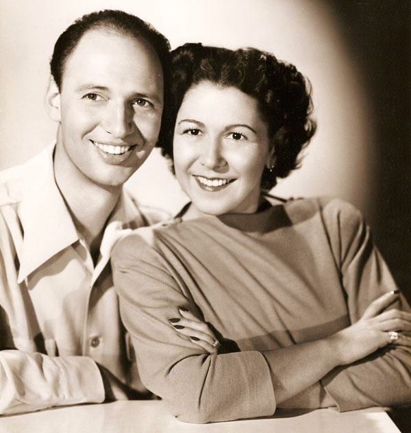 Miss Pat Mason with Stanley Kahn
